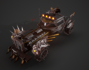 Battle Nux car 3D asset realtime