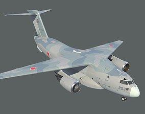 Kawasaki C-2 3D asset
