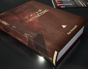 3D asset New and Old books - magazines - notes