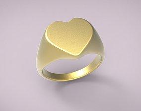 ring heart 7 3D print model