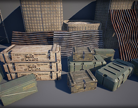 3D model Military Props Pack