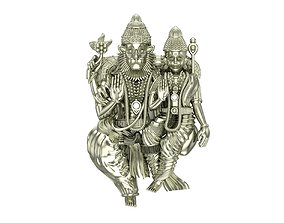 laxmi Narasimha wedding 3D printable model