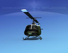 Bell UH-1B Iroquois V15 RAAF 3D model