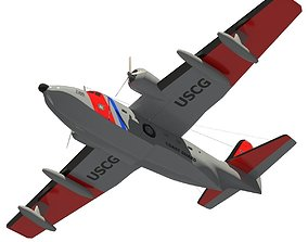 3D Grumman HU-16 Albatross