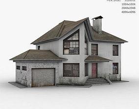 3D model Building uv