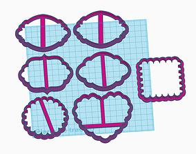 3D printable model Marcos tags para cookies
