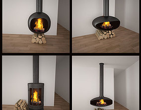 Fireplaces COLLECTION 3D