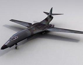 3D asset B1B Lancer Bomber