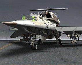 UAV-18 Specter Drone for Poser 3D