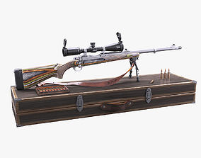 Ruger Guide Gun Set 3D model