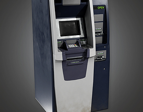 3D model Bank ATM 2 BHE - PBR Game Ready