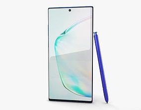 3D Samsung Galaxy Note10 Plus Aura Blue