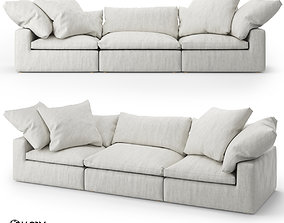 Restoration Hardware Cloud Modular Fabric Sofa 3D
