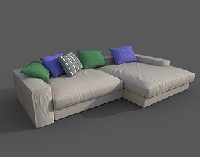 3D asset Sofa-09
