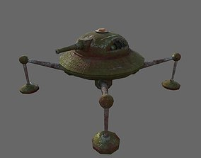 3D model Spider-tank Cycloid