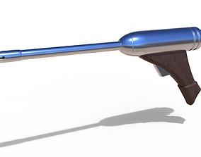 Blaster pistol ELG-3A from the movie Star 3D print model