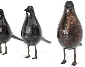 Bird Trinket Set 3D model