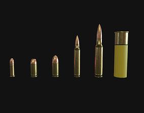3D model VR / AR ready Ammo pack
