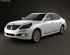 3D Hyundai Equus Centennial 2012