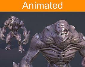 3D asset Creature Shell