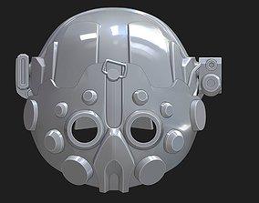3D printable model Tech Helmet 1