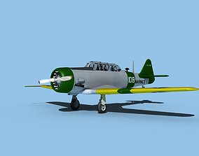 3D North American SNJ USMC V04