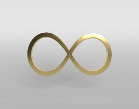 Unlimited Symbol v1 003 3D asset