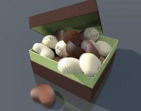 Box chocolate 3D