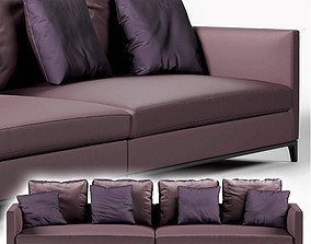 Sofa Camerich Crescent 3D model