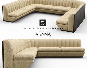 3D Vienna Modular Banquet Seating