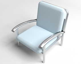 3D model Sofa Single Seater 7