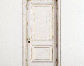 3D model Old classic door 003