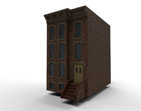 Ghetto Houses 3D asset realtime