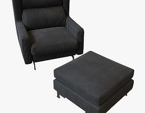 3D Alberta Salotti Blow armchair