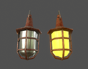 Hanging Light - Game Ready 3D model