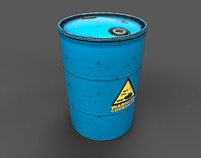 3D model Drum Barrel