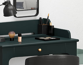 3D IKEA DRESSING TABLE set