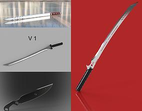 Deathstroke Sword Pack X4 3D print model