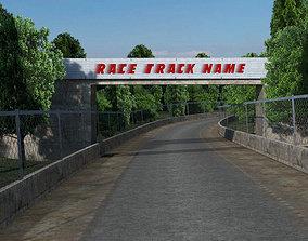 Summer Race track 3D model