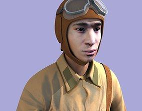 Soviet pilot 3D