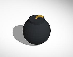 a bomb 3D print model