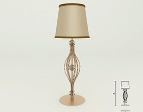 3D model Masiero 7600 TL1P table lamp