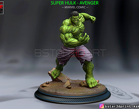 SUPER HULK - Super Hero - Marvel 3D printable model