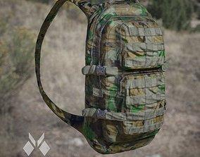 Military BackPack Jungle Desert and Urban colour 3D model