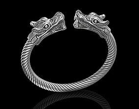 Bracelet dragon great 3D printable model