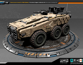 3D model RTS Armoured 6X6 - 20