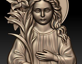 3D model The Three-year-old Virgin Mary
