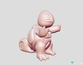 3D print model Squirtle toy statue