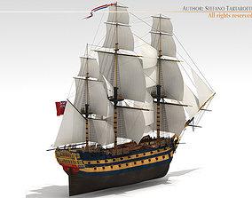 HMS Leopard 3D model