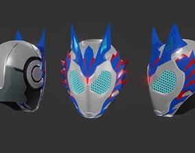 3D printable model Kamen Rider Vulcan Helmet
